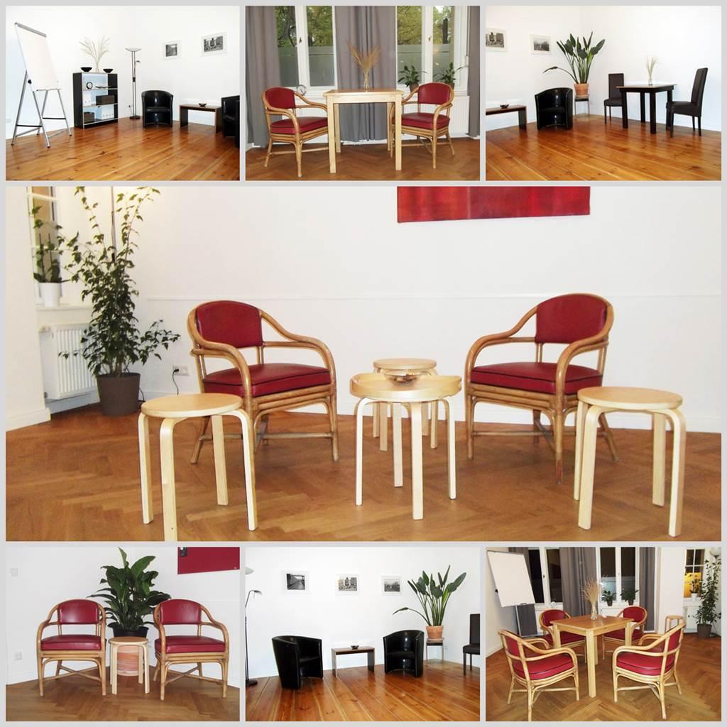 Räume für den Schreibworkshop in Berlin, Prenzlauer Berg